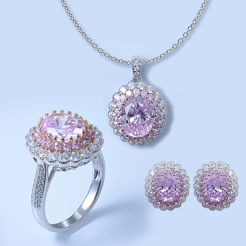 Floral Ladies Jewelry Set